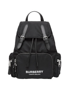 The medium rucksack in logo print econyl®