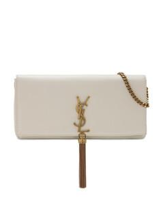 Kate 99 Baguette Leather Bag W/ Tassel