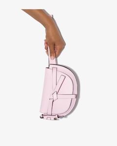 pink Gate leather belt bag