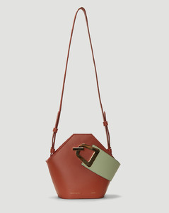 Mini Johnny Shoulder Bag in Brown