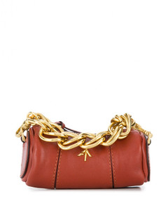 Micro Cylinder Leather Bag