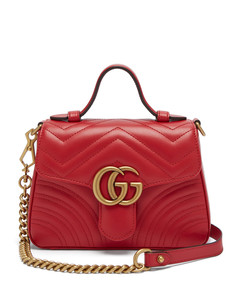 GG Marmont mini quilted-leather cross body bag