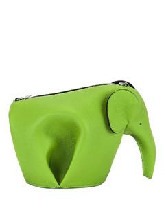 Elephant Mini Bag in Green