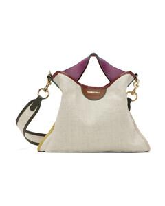 Women's K/Ikonik Metal Lock Shoulder Bag - Black