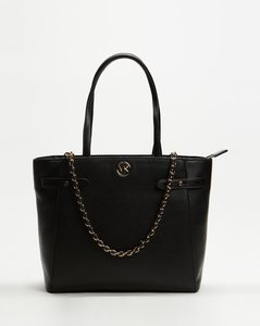 Carmen Large Pebbled Leather Tote Bag
