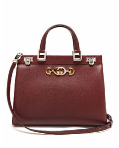 Zumi medium leather handbag