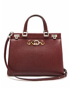 Zumi medium leather handbag