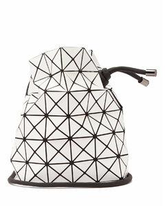 Wring drawstring PVC bucket bag