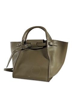 Amry Green Top Handle Bag