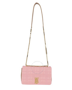 Ladies Small Quilted Two-tone Lambskin Lola Shoulder Bag