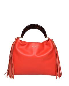 Nightlily floral-appliquécanvas shoulder bag