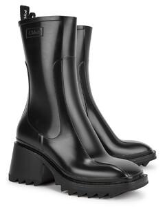 Betty 65 black PVC boots