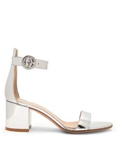 Portofino 60 block-heel leather sandals