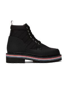 黑色All Terrain踝靴