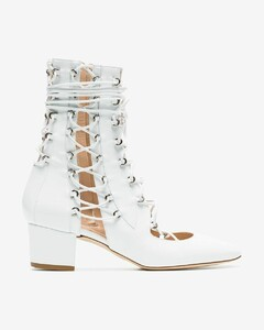 White Drury Lane 50 Leather Boots