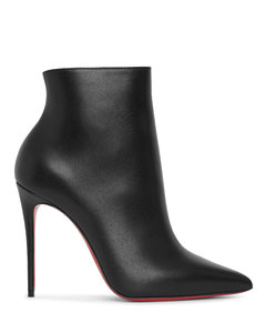 So Kate 100 Black Leather Booties