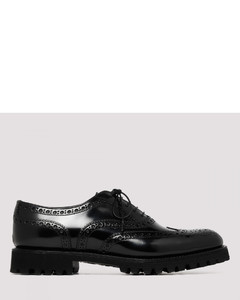 Black Carla Oxford Brogue shoes