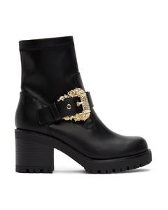 黑色Mia Couture I踝靴