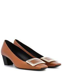 DécolletéBelle Vivier皮革高跟鞋