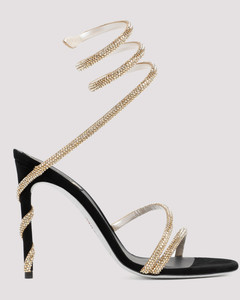 Hall leopard-print suede ballet flats