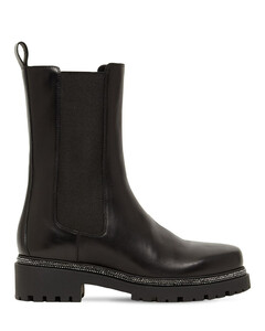 25mm Leather Chelsea Boots