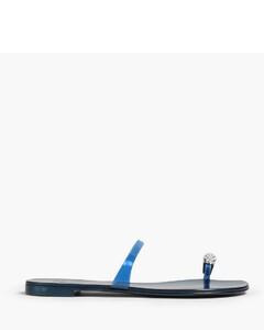 Triple S Sneakers in Light Blue Canvas