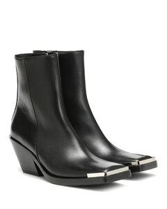 皮革及踝靴