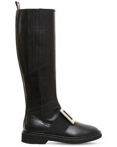 30mm Viv Rangers Leather Tall Boots