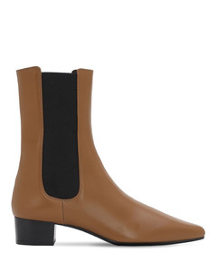 30mm British Leather Ankle Boots