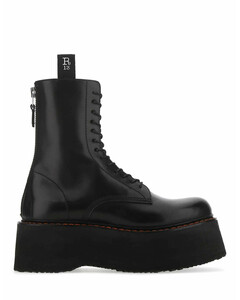 Double Stacked Combat Boots