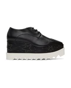 黑色Elyse Stars德比鞋