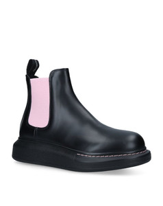 Leather Hybrid Chelsea Boots