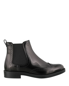 Brogue detailed Chelsea boots