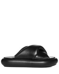 black gardena high top sneakers