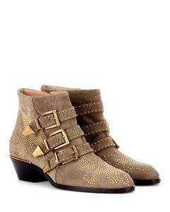 Susanna绒面革及踝靴