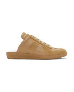 黄褐色Replica Cut-Out运动鞋