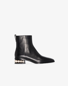 Casati pearl-embellished ankle boots