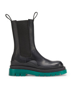 Leather BV Tire Chelsea Boots 55