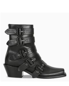 Peep toe Albertina boots