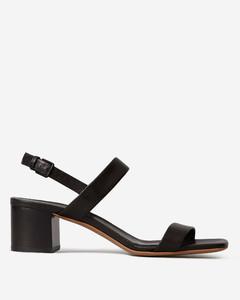 The Double Strap Block Heel Sandal