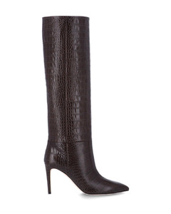 Lee Ankle Boots in Black Leather