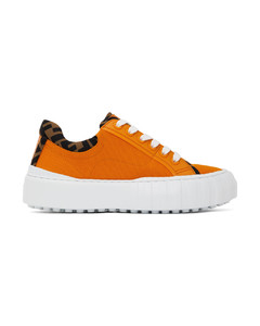 橙色Forever Fendi Trim运动鞋