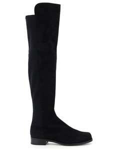5050 suede LEATHER AND STRETCH BOOTS