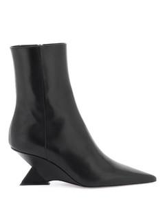 Women's Leather Chelsea Boots - Egret