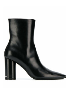 Oval 90mm ankle boots