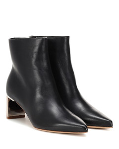 Raya leather ankle boots