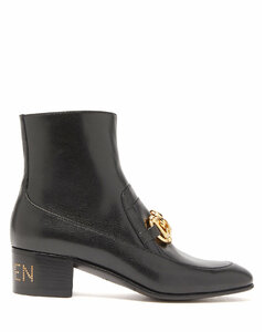 Ebal horsbit leather ankle boots