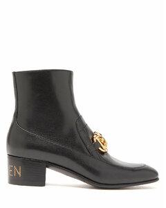 Ebal horsbit leather ankle boots
