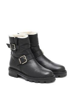 Youth II皮革及踝靴