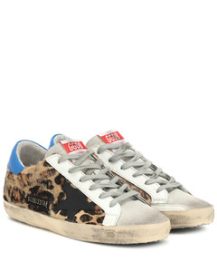 Superstar豹纹运动鞋